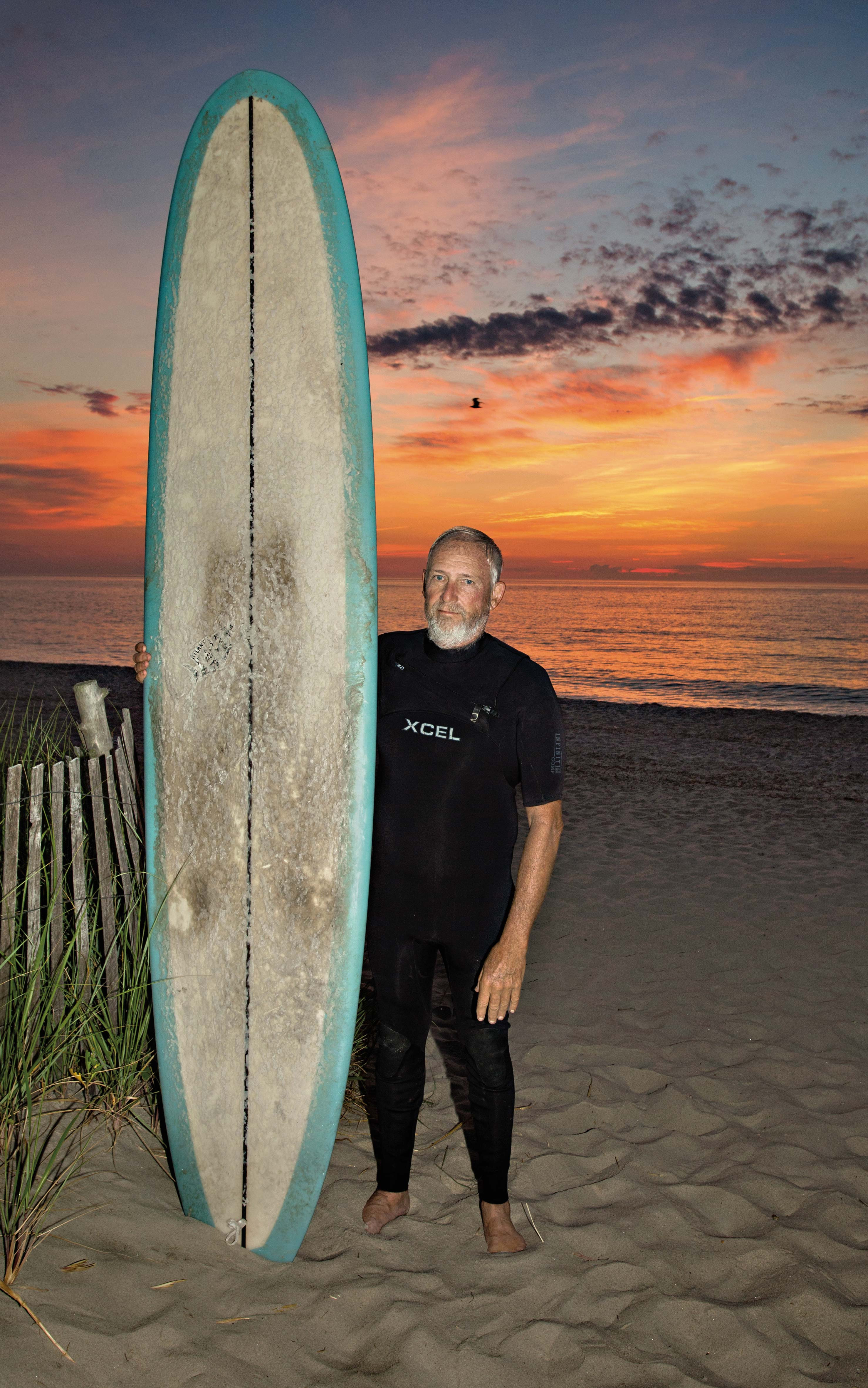 feature-garyrevel Surfing for Life - Delaware Beach Life