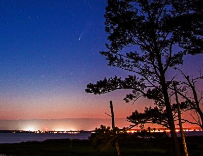 Comet Neowise over the Indian River Bay   Gary Owens