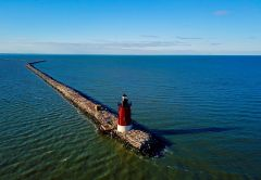 Kojo Otchere Addo   Delaware Breakwater Lighthouse
