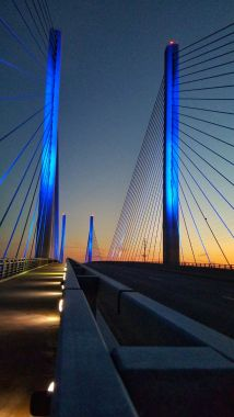 Victoria Gordon   Indian River Inlet Bridge at dusk