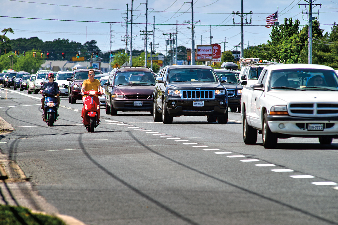 traffic Caution: Heavy Traffic Ahead - Delaware Beach Life